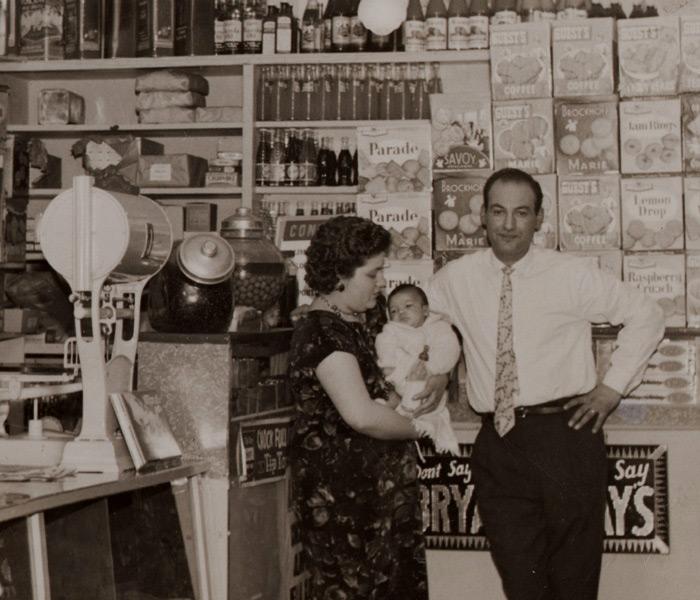 Beginnings of the food store